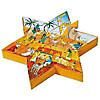 Adventspuzzle-Stern mit Krippenfiguren (24-teilig)