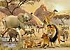Afrikanische Wildnis. Puzzle 1000 Teile