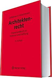 Architektenrecht, Peter Löffelmann, Guntram Fleischmann, Rechtskunde