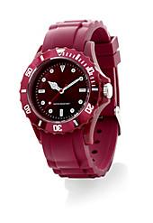 "Armbanduhr ""Trendy-Watch"" (Farbe: bordeaux)"