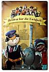 Augsburger Puppenkiste Blechschild Helden für die Ewigkeit