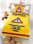 Bettwäsche Rahmenlos Vorsicht Teenager (Größe: 135 x 200 cm)