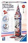 Big Ben - London, Flag Edition 3D (Puzzle)