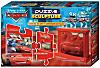 Cars 2in1 Puzzle + Skulptur, 4 x 36 Teile