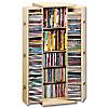 """CD-Schrank """"Bergamo"""" für 296 CDs (Farbe: Buche)"""