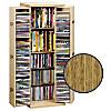 """CD-Schrank """"Bergamo"""" für 296 CDs (Farbe: Eiche)"""