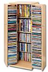 CD-Schrank für 296 CDs (Farbe: ahorn)