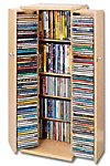 CD-Schrank für 296 CDs (Farbe: antik)