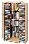 CD-Schrank für 296 CDs (Farbe: buche)