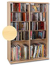 CD-Schrank für 300 CDs, Ahorn, Aufbewahrung