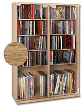 CD-Schrank für 300 CDs, Eiche