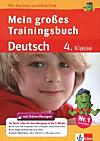 Das große Trainingsbuch Deutsch 4. Klasse