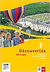 Découvertes - Série jaune: Bd.3 Fit für Tests und Klassenarbeiten, m. CD-ROM