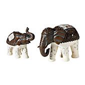 """Deko-Elefanten """"Asia"""", 2er-Set"""