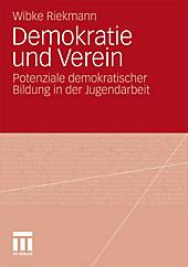 Demokratie und Verein, Wibke Riekmann, Politik & Soziologie