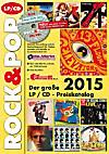 Der große Rock & Pop LP / CD-Preiskatalog 2015, m. CD-ROM