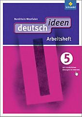 deutsch.ideen SI, Ausgabe Nordrhein-Westfalen (2012): 5. Schuljahr, Arbeitsheft, Schulbücher