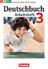 Deutschbuch, Gymnasium Baden-Württemberg, Neubearbeitung: Bd.3 7. Schuljahr, Arbeitsheft