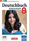 Deutschbuch, Gymnasium Niedersachsen: 8. Schuljahr, Arbeitsheft mit Übungs-CD-ROM