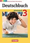 Deutschbuch, Realschule Baden-Württemberg, Neubearbeitung: Bd.3 7. Schuljahr, Arbeitsheft