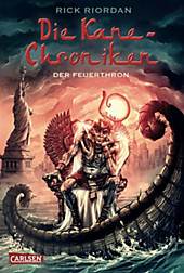 Die Kane-Chroniken, Band 2: Der Feuerthron, Rick Riordan, Jugendbücher