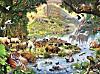 Die Tiere der Arche Noah. Puzzle 300 Teile
