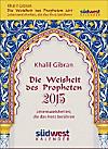Die Weisheit des Propheten 2015 Textabreißkalender