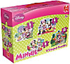 Disney Minnie Mouse 4 in 1 (Konturenpuzzles)