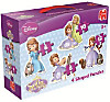 Disney Sofia the First 4 in 1 (Konturenpuzzle)