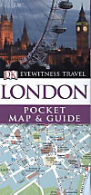 DK Eyewitness Travel Pocket Map & Guide  London
