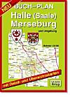 Doktor Barthel Buchplan: Halle (Saale), Merseburg und Umgebung