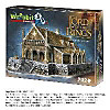 EDORAS - GOLDEN HALL, LORD OF THE RINGS 3D-PUZZLE Wrebbit