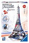 Eiffelturm - Paris, Flag Edition (Puzzle)