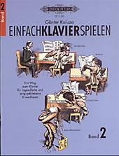 Einfach Klavier spielen, Günter Kaluza, Musizieren & Notenbücher