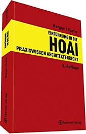 Einführung in die HOAI, Heiko Fuchs, Andreas Berger