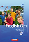 English G 21, Ausgabe A: Bd.1 5. Schuljahr, Workbook m. Audio-CD