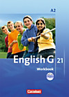 English G 21, Ausgabe A: Bd.2 6. Schuljahr, Workbook m. Audio-CD