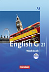 English G 21, Ausgabe A: Bd.3 7. Schuljahr, Workbook m. Audio-CD
