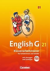 English G 21, Ausgabe B: Bd.1 5. Schuljahr, Klassenarbeitstrainer m. Audio-CD, Schulbücher