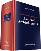 Fachanwaltskommentar Bau- und Architektenrecht, Henning von Berg, Jochen Glöckner, Rechtskunde