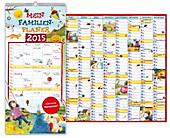 Familienplaner 2015 inkl. Wandplaner
