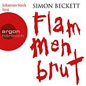Flammenbrut, 6 Audio-CDs, Simon Beckett, Krimi & Thriller