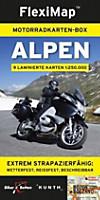 FlexiMap Motorradkarten-Box Alpen, 9 Bl.
