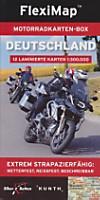 FlexiMap Motorradkarten-Box Deutschland, 12 Bl.
