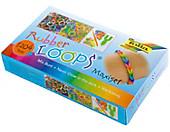 Folia RubberLoops Set Mix Neon nachtleuchtend, 1.204 Teile,