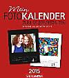 Fotokalender zum Selbergestalten 2015 schwarz/weiß