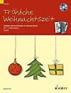 Fröhliche Weihnachtszeit, 1-2 Akkordeons, m. Audio-CD