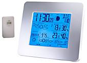 Funk-Wetterstation mit 5 Tages-Vorhersage Barometer