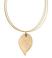 """Gemshine Halsreif """"Rosenblatt"""", Gold 18 k (Farbe: gold)"""