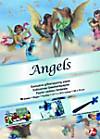 Geschenkpapier von Künstlerhand: Angels